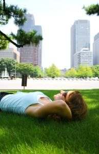 relaxing-in-park